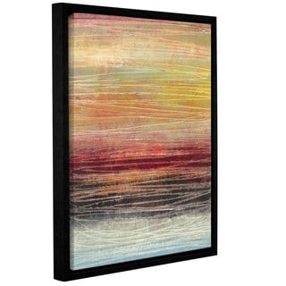 ArtWall Norman Wyatt JR's Fahrenheit, Gallery Wrapped Floater-framed Canvas