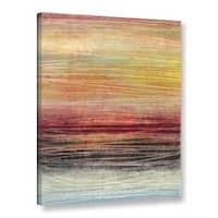 ArtWall Norman Wyatt JR's Fahrenheit, Gallery Wrapped Canvas