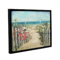 ArtWall Danhui Nai's Summer Ride, Gallery Wrapped Floater-framed Canvas