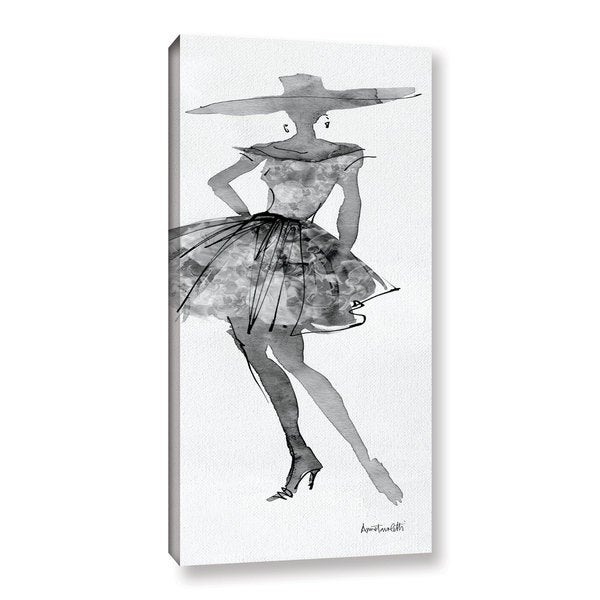ArtWall Anne Tavoletti's Fashion Sketchbook V, Gallery Wrapped Canvas