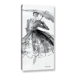 ArtWall Anne Tavoletti's Fashion Sketchbook VI, Gallery Wrapped Canvas