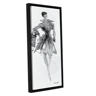 ArtWall Anne Tavoletti's Fashion Sketchbook VII, Gallery Wrapped Floater-framed Canvas