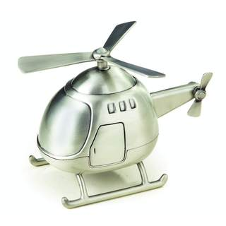 Heim Concept Pewter Finish Helicopter Bank