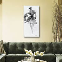 ArtWall Anne Tavoletti's Fashion Sketchbook VII, Gallery Wrapped Canvas