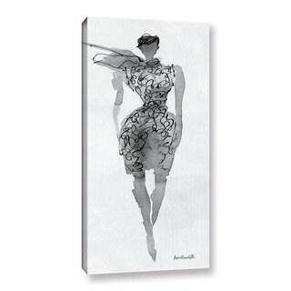 ArtWall Anne Tavoletti's Fashion Sketchbook VIII, Gallery Wrapped Canvas