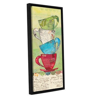 ArtWall Courtney Prahl's Come For Tea, Gallery Wrapped Floater-framed Canvas