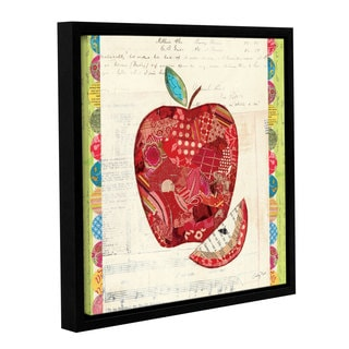 ArtWall Courtney Prahl's Fruit Collage 1, Gallery Wrapped Floater-framed Canvas