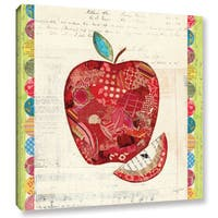 ArtWall Courtney Prahl's Fruit Collage 1, Gallery Wrapped Canvas
