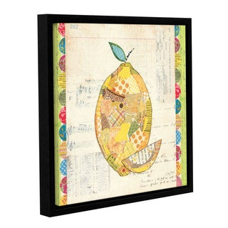 ArtWall Courtney Prahl's Fruit Collage 2, Gallery Wrapped Floater-framed Canvas