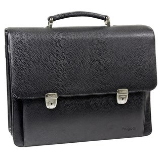 Bugatti Time Black 15-inch Laptop Briefcase