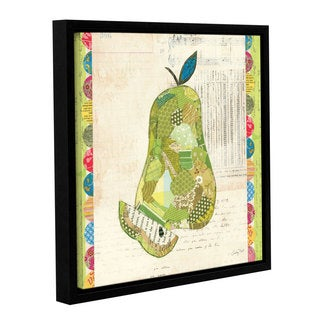 ArtWall Courtney Prahl's Fruit Collage 3, Gallery Wrapped Floater-framed Canvas