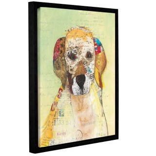 ArtWall Courtney Prahl's Wanna Play I, Gallery Wrapped Floater-framed Canvas