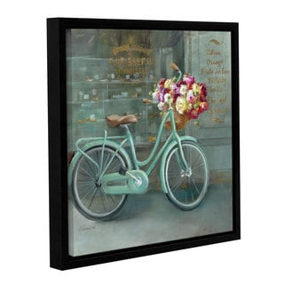 ArtWall Danhui Nai's Joy Of Paris 1, Gallery Wrapped Floater-framed Canvas