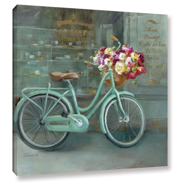 Maison Rouge Danhui Nai's 'Joy Of Paris 1' Gallery Wrapped Canvas