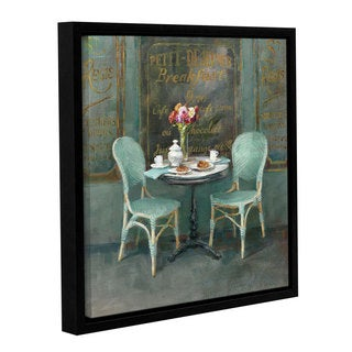 ArtWall Danhui Nai's Joy Of Paris 2, Gallery Wrapped Floater-framed Canvas
