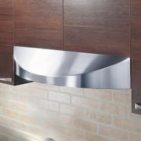 KOBE CHX3836SQB-2 Brillia 36-inch Under Cabinet Range Hood, 3-Speed, 650 CFM, LED Lights, Baffle Fil