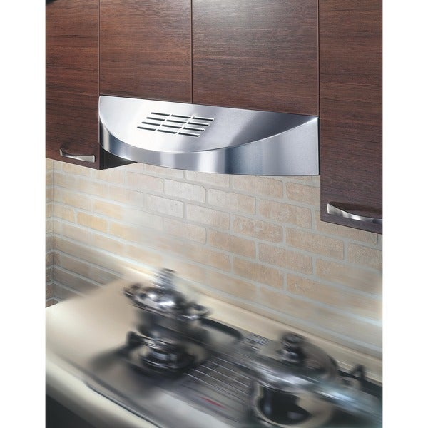 KOBE CHX3830SQBD-3 Brillia 30-inch Under Cabinet Range Hood, with ...