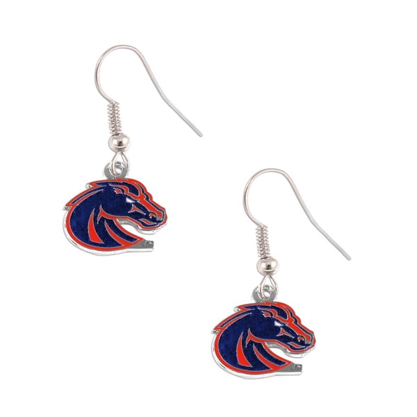 NCAA Boise State Broncos Dangle Logo Earring Set