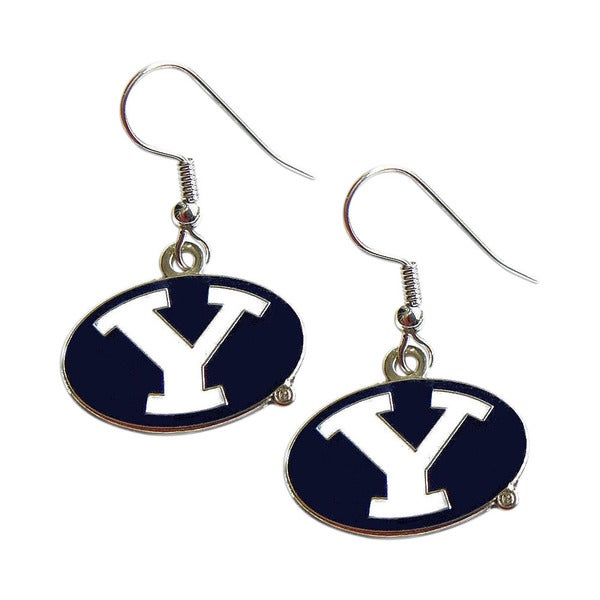 BYU Cougars Y Sports Team Logo Dangle Earring Set