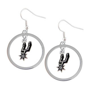 NBA San Antonio Spurs Hoop Logo Earring Set