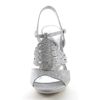 Beston BB27 Women's Cut Out Glitter Sandals