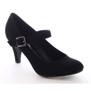 Beston BB34 Women's Buckle Strap Pumps