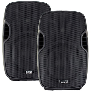 Acoustic Audio Aa12ub Powered 1800 Watts 12-inch Bluetooth Speaker Pair 2 Way Usb Mp3 Player Aa12ub-pr