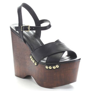 Wild Diva NIKKI-07 Women's Platform Sandals