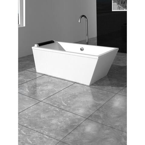 Fine Fixtures Modern Large Freestanding Bathtub