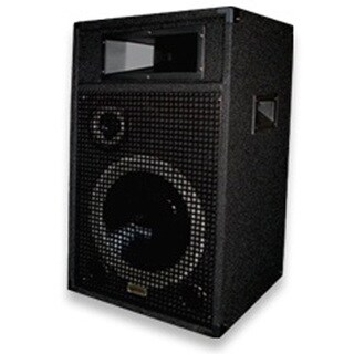 Acoustic Audio Br12 Pa Karaoke Dj 12-inch Speaker 1000 Watts 3 Way