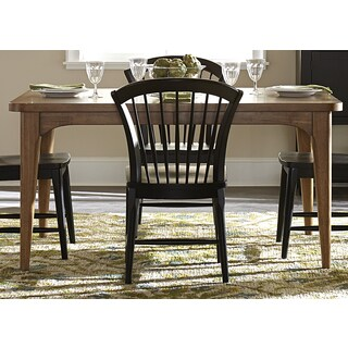 Candler Nutmeg Tapered Leg Dinette Table