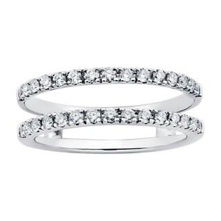 Boston Bay Diamonds 14k White Gold 1/2ct Diamond Bridal Insert