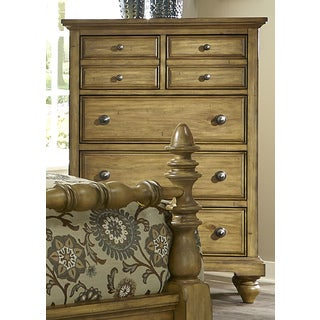 High Country Honey Spice 5-Drawer Chest