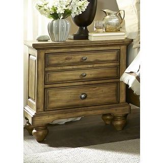 High Country Honey Spice 2-Drawer Nightstand