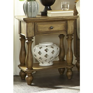 High Country Honey Spice Chair Side Nightstand