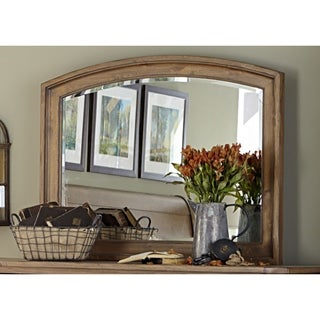 Liberty Southern Pines II Vintage Light Pine Mirror - Brown