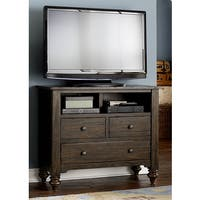 Liberty Southern Pines Bark 3-Drawer Media Chest