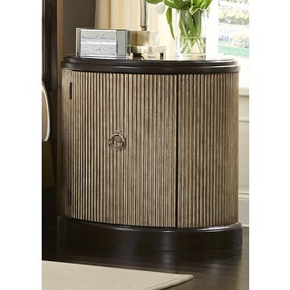 Manahttan Sable and Champagne Demilume Nightstand