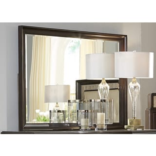 Manahttan Sable and Champagne Mirror