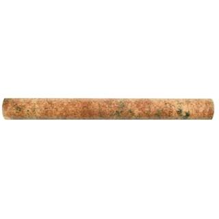 SomerTile .875x7.875-inch Gavras Marron Torelo Ceramic Trim Wall Tile (Pack of 10)