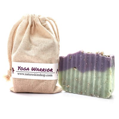Handmade Yoga Warrior Soap Bar