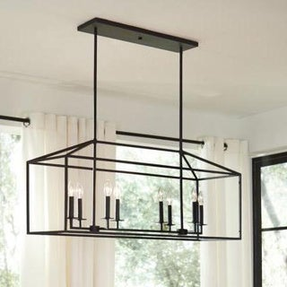 Sea Gull Perryton Blacksmith Steel 8-light Pendant