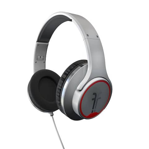 Flips Audio White Collapsible HD Headphones and Stereo Speakers