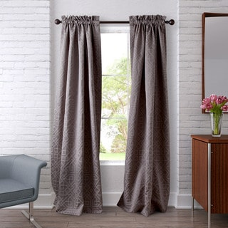 Heritage Landing Iron Work Curtain Panel Pair