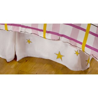 Rizzy Home Girls Punk Animal Plaid Bedskirt