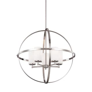 Sea Gull Alturas 5 Lights Brushed Nickel Chandelier