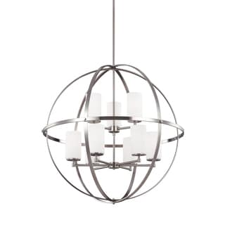Sea Gull Alturas 9 Lights Brushed Nickel Chandelier
