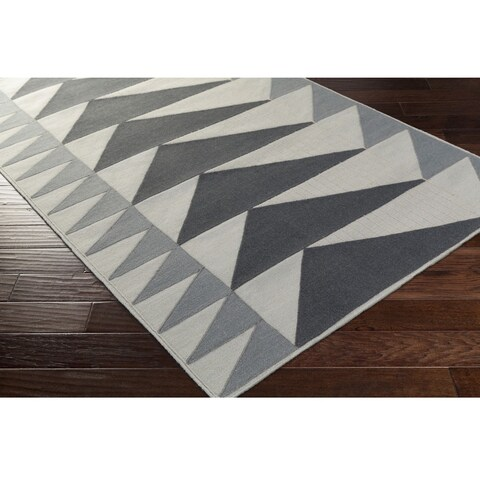 Carson Carrington Randers Hand Woven Wool/Cotton Area Rug