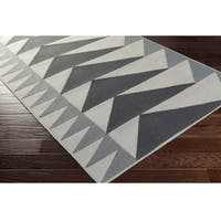 Carson Carrington Norrkoping Hand Woven Wool/Cotton Area Rug - 2' x 3'