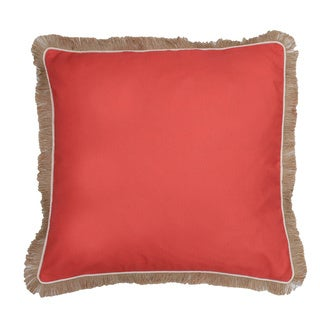 Thro by Marlo Lorenz Dean Fringe Feather Filled 20-inch Throw Pillow